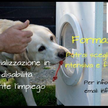 """Corso di specializzazione in: """"Supporto alla disabilità motoria mediante l'impiego del cane"""""""